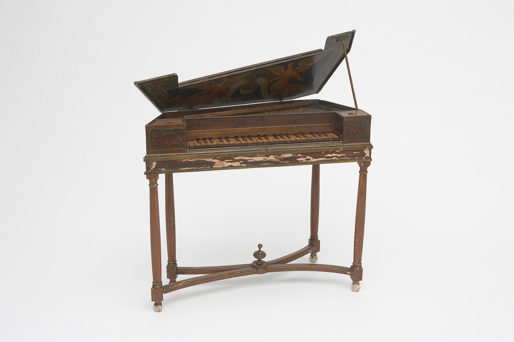 Spinetta, By Maker unknown, late 16th century, Chordophone, Photo credit: Alex Contreras
